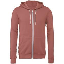 textil Sweatshirts Bella + Canvas CV3739 Mauve