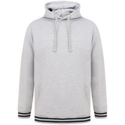 textil Sweatshirts Front Row FR841 Heather Grey/Navy