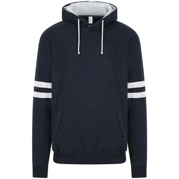 textil Sweatshirts Awdis JH103 New French Navy/Heather Grey