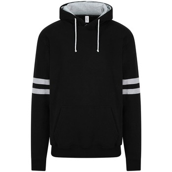textil Sweatshirts Awdis JH103 Deep Black/Heather Grey