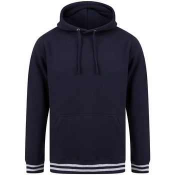 textil Sweatshirts Front Row FR841 Navy/Heather Grey