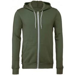 textil Sweatshirts Bella + Canvas CV3739 Military Green