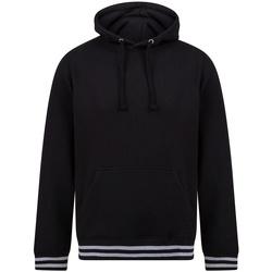 textil Sweatshirts Front Row FR841 Black/Heather Grey