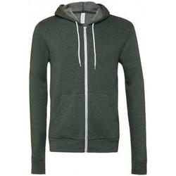 textil Sweatshirts Bella + Canvas CV3739 Heather Forest