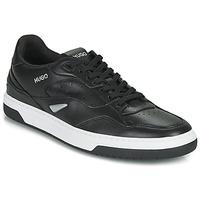 Sko Herre Lave sneakers HUGO Switon_Tenn_fl 10232547 01 Sort