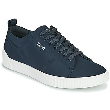 Sko Herre Lave sneakers HUGO ZERO TENN NYPU Marineblå