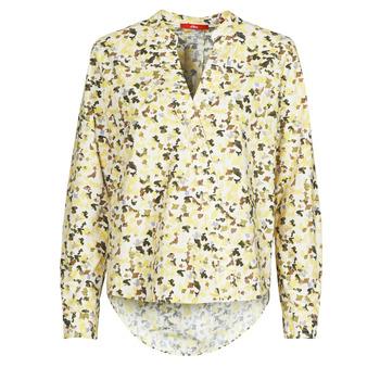 textil Dame Toppe / Bluser S.Oliver 14-1Q1-11-4080-02A0 Flerfarvet