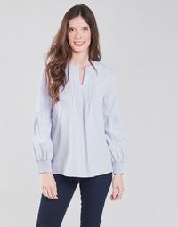 textil Dame Toppe / Bluser S.Oliver 14-1Q1-11-4016-48W6 Violet