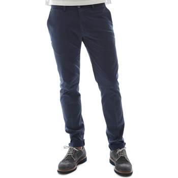 textil Herre Chinos / Gulerodsbukser Sei3sei 6OYSTER E1669 Blå