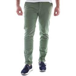 textil Herre Chinos / Gulerodsbukser Sei3sei 6OYSTER E1648 Grøn