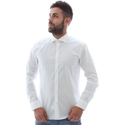 textil Herre Skjorter m. lange ærmer Gmf GMF5 4864 8 hvid