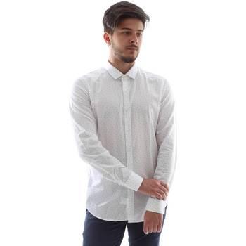textil Herre Skjorter m. lange ærmer Gmf FS15 961138/1 hvid