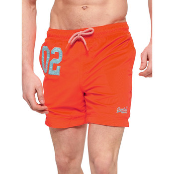 textil Herre Badebukser / Badeshorts Superdry M30018AT Orange