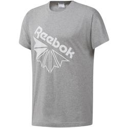 textil Herre T-shirts m. korte ærmer Reebok Sport DT8213 Grå