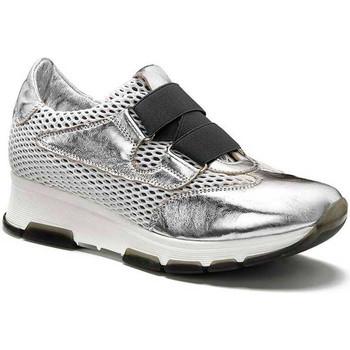Sko Dame Lave sneakers Keys 5183 Sølv