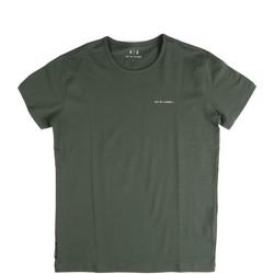 textil Herre T-shirts m. korte ærmer Key Up 2G69S 0001 Grøn