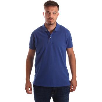 textil Herre Polo-t-shirts m. korte ærmer Navigare NV82086 Blå