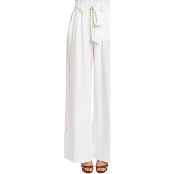 textil Dame Løstsiddende bukser / Haremsbukser Gaudi 011FD25033 hvid