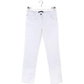 textil Børn Lærredsbukser Losan 714 9650AB hvid