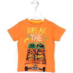 textil Børn T-shirts m. korte ærmer Losan 715 1214AC Orange