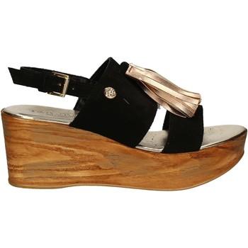 Sko Dame Sandaler Byblos Blu 672213 Sort