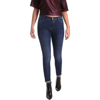 textil Dame Smalle jeans Gas 355652 Blå