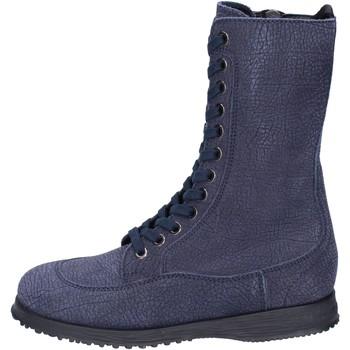 Sko Dame Høje støvletter Hogan Ankelstøvler BK692 Blå