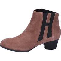 Sko Dame Høje støvletter Hogan Ankelstøvler BK699 Brun