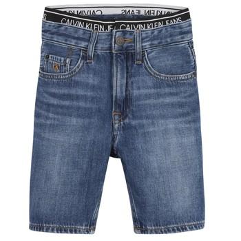 textil Dreng Shorts Calvin Klein Jeans AUTHENTIC LIGHT WEIGHT Blå