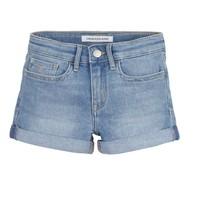 textil Pige Shorts Calvin Klein Jeans SLIM SHORT ESS Blå