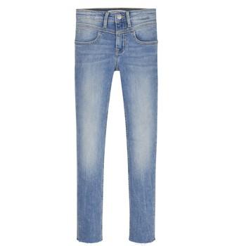 textil Pige Jeans - skinny Calvin Klein Jeans IG0IG00971-1AA Blå