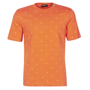 textil Herre T-shirts m. korte ærmer Scotch & Soda 160854 Rød