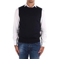 textil Herre Veste / Cardigans La Fileria 14290 55168 Blue