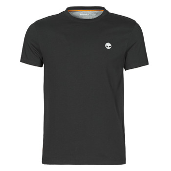 textil Herre T-shirts m. korte ærmer Timberland SS DUNSTAN RIVER POCKET TEE SLIM Sort
