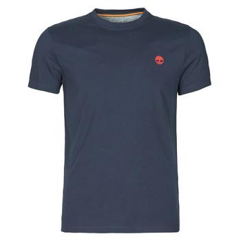 textil Herre T-shirts m. korte ærmer Timberland SS DUNSTAN RIVER POCKET TEE SLIM Marineblå