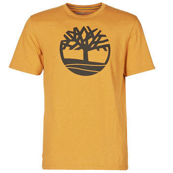 textil Herre T-shirts m. korte ærmer Timberland SS KENNEBEC RIVER BRAND TREE TEE Kamel