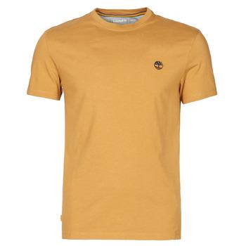 textil Herre T-shirts m. korte ærmer Timberland SS DUNSTAN RIVER POCKET TEE SLIM Beige