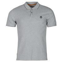 textil Herre Polo-t-shirts m. korte ærmer Timberland SS MILLERS RIVER TIPPED PIQUE SLIM Grå