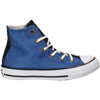 Sko Børn Høje sneakers Converse 659965C Blå