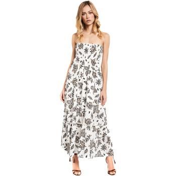 textil Dame Lange kjoler Gaudi 011FD15004 hvid