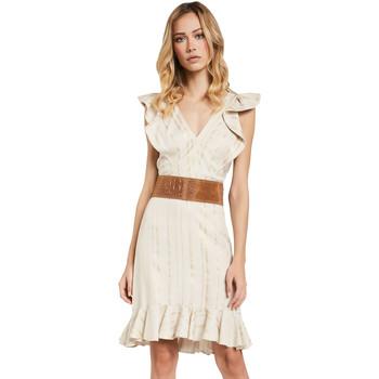 textil Dame Korte kjoler Gaudi 011FD15057 Beige