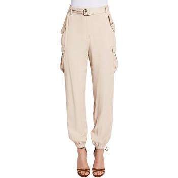 textil Dame Cargo bukser Gaudi 011FD25018 Beige