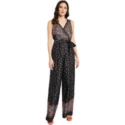 textil Dame Buksedragter / Overalls Gaudi 011FD25027 Sort
