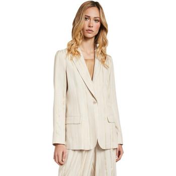 textil Dame Jakker / Blazere Gaudi 011FD35011 Beige
