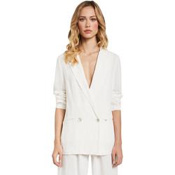 textil Dame Jakker / Blazere Gaudi 011FD35012 hvid