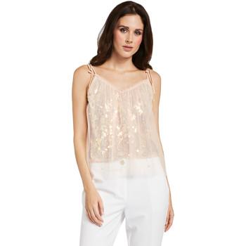 textil Dame Toppe / Bluser Gaudi 011FD45036 Lyserød