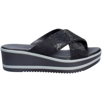 Sko Dame Tøfler Grace Shoes 21114 Sort