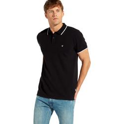 textil Herre Polo-t-shirts m. korte ærmer Wrangler W7C10K Sort
