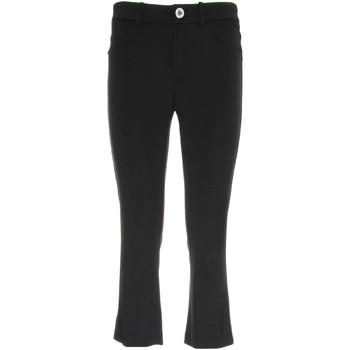 textil Dame Halvlange bukser NeroGiardini P960610D Sort