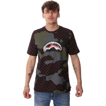 textil Herre T-shirts m. korte ærmer Sprayground SP01820BRO Brun